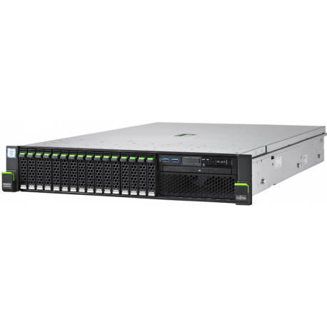 Fujitsu PRIMERGY RX2540 M4 - se puede montar en bastidor - Xeon Silver 4110 2.1 GHz - 16 GB - 0 GB - Imagen 1
