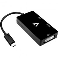 BLACK USB C ADAPTERUSB C TO VGACABL V7UC-VGADVIHDMI-BLK