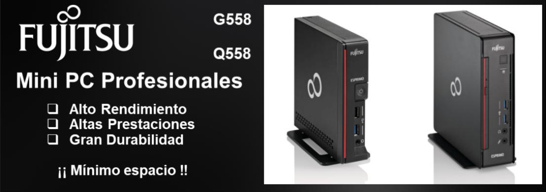 PC Ultracompacto G558 Q558